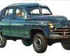 ГАЗ М72 – советский ретро-автомобиль