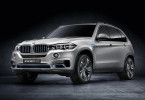 Гибридная версия BMW X5 получила 95-сильный электродвигатель