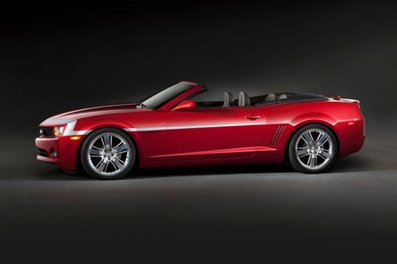 The Camaro Red Zone демонстрирует дизайнерское решение, которое демонстрирует современные и будущие модели