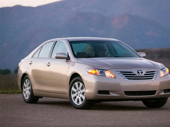 Toyota Camry ярко выраженный экспортный автомобиль