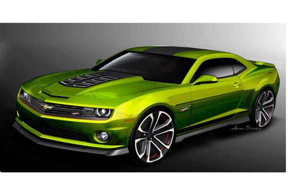 Chevrolet Camaro Hot Wheels Concept Dazzles 2011