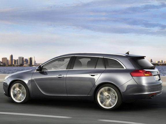 Opel Insignia удивляет несравненным экстерьером