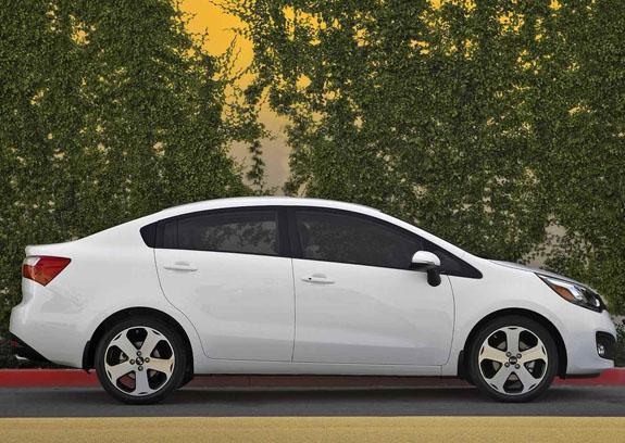 Новый Kia Rio 2012 может иметь несколько модификаций