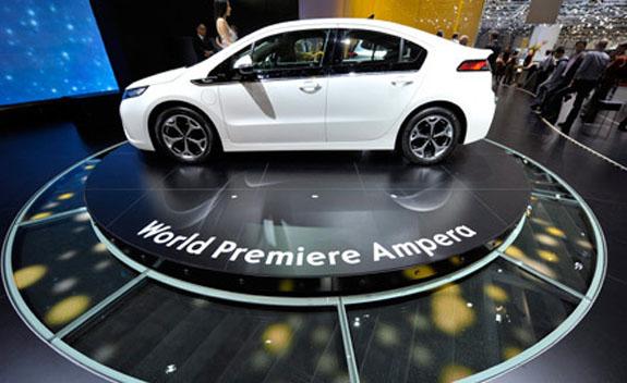Впервые победителями на женевском автосалоне стали электромобили